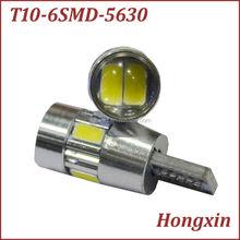 194 186 w5w T10 6SMD 5630 canbus auto led lamp, car led lighting, led car bulb