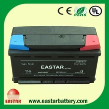 DIN&JIS MF 12v 90ah car battery