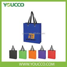 Walmart direct factory reusable PP non woven shopping bag
