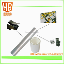 5 micron ultrathin transparent pet double side adhesive tape