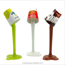 2015 creative cute table lamp shape advertising ball pen with light for promotion