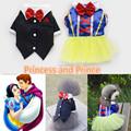 2015 Pet clothes summer snow white dress ropa para perros