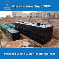 ETP domestic sewage effluent treatment plant