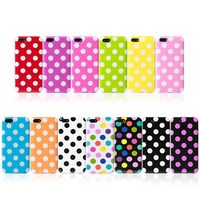 For apple iphone 6 TPU dots gel silicone jelly rubber phone case protector