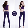 new style sexy and elastic latest women elastic elastic women jeans dark purple colur women jeans skinny cotton fabric long