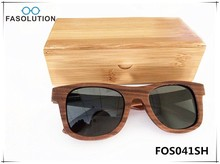 2015 Fashion Polarized Wooden Sunglasses Handmade Wooden Sunglasses With case