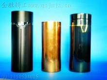 Elegant gold plating outside case for vacuum business cup, cover case for vacuum cup, shell case for vacuum cup