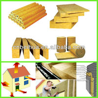 2013 new building construction material rock wool board