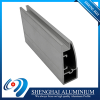 Long service life free samples aluminium extrusion profile for kitchen cabinet door