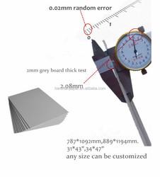 Three times for important: grey board/ grey chipboard/laminated grey chipboard
