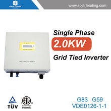 2kw solar grid tie inverter compared with solar pump inverter used in solar panel home system