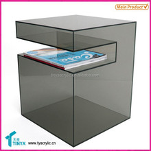 New Product Deluxe Glass Dining Rom Furniture Lucite Tables Acrylic Modern Furniture Acrylic Contemporary Furniture Manufacturer