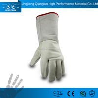 Cowhide leather extreme cold resistant freezer hand gloves