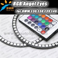 High Quality 5050 RGB LED Angel Eyes Colors For BMW E36 E38 E39 E46 With Projector