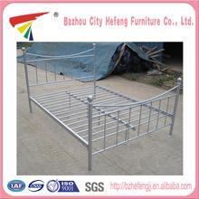 Venta directa de cama contemporánea de metal de profesional mayorista y fabricante chino