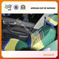 Travel Car Flag Car Seat Head Steering Wheel Covers