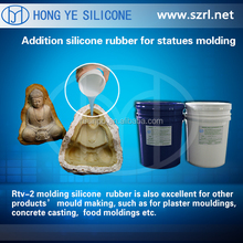 RTV liquid silicone rubber for statues molding