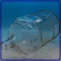 hot selling custom giant 3 gallon glass water bottle manufacturer