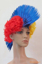 2015 halloween hair wig party synthetic hair wig hot sale