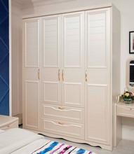 Small Wardrobe Wood Almirah Designs in Bedroom