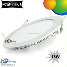 IP55 18w ultra slim shenzhen price round led panel light