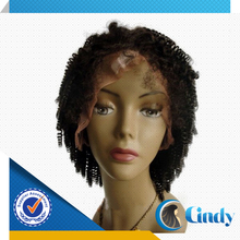 fast shipping 6-36inch accept paypal custom crazy jerry curl short hair full lace wigs for african americans