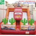 inflável corrediça do carro,crianças corrediça inflável para a venda 2014