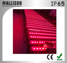 1meter length Indoor &Outdoor stage wash light with 24 PCS 3-IN-1 LED