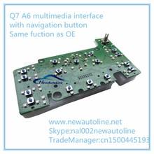 MMI multimedia vedio interface for cars A6&Q7 GPS/Navigation/Bluetooth/DVD