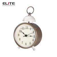 cheap antique quartz vibrating alarm table clocks