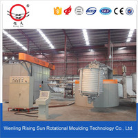 Carousel Rotomolding Machine,Plastic product making machinery, farm water tank