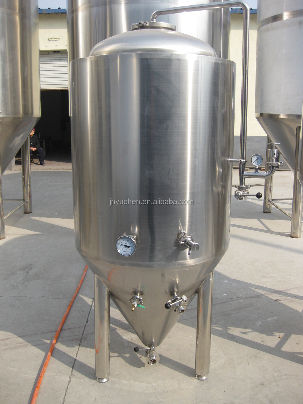 500l stainless steel conical fermenter fermentation tanks for Craft a brew fermenter