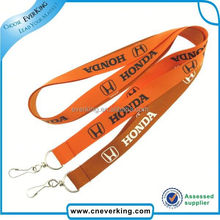 Promotion cheap lanyards flash buckle manufacturers