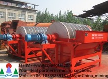 Mining magnetic separator machine with best quality