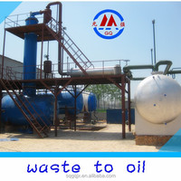 20-ton Capacity Recycling Used Engine Oil Refining Distillation Plant