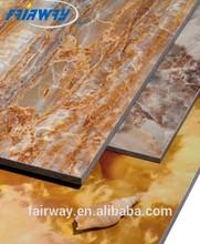 /interna e externa de revestimento da parede da placa, parede da fibra cement board