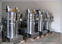 stainless steel hydraulic press machine 100 ton, sesame oil machine, sunflower oil expeller equipment