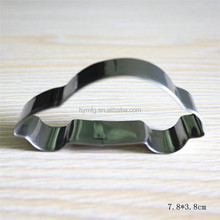 Hot selling metal car shape cookie cutter