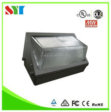 DLC UL cul outdoor led wall pack lights/ul outdoor led wall fixture pack light