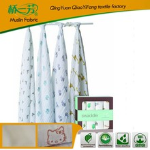 hot sales 100% bamboo baby muslin swaddle blanket