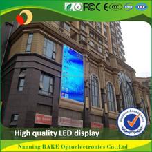 Pantalla de video rgb exterior panel led p6