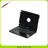 3 in 1 top quality adjustable computer keyboard stand for ipad air 2 bluetooth wireless 360 rotation keyboard case for ipad 6