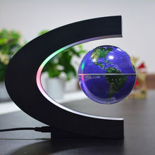 3 inches magnetic levitation globe/C shape magnetic floating globe/magnetic levitation products
