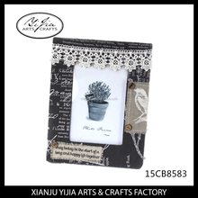 Cloth art picture photo frames creative personality design