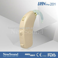 New Powerful Hearing Aids in Beige Color