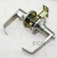 de aleación de zinc de alta calidad tubular de entrada de la palanca manijas de las puertas y las cerraduras