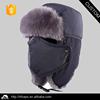 Funny winter ski hat / Russian ski ear flap cap
