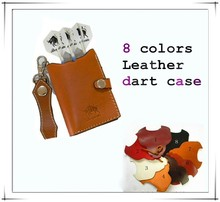 Beautiful Real Leather Dart Case For Dart Accessories