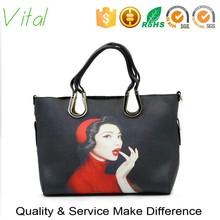 More Colors Wholesale Top Quality Pu Handbag / Fashion Style Handbags/brand Design Hand Bags