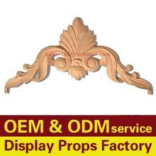 Custom tallado artesanías de madera, decoración de madera adornos, ornamento casa, muebles decoración